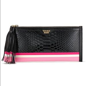 Victoria's Secret luxe python clutch